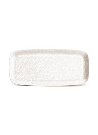 Main View - Click To Enlarge - L'OBJET - Alchimie large rectangle platter − White