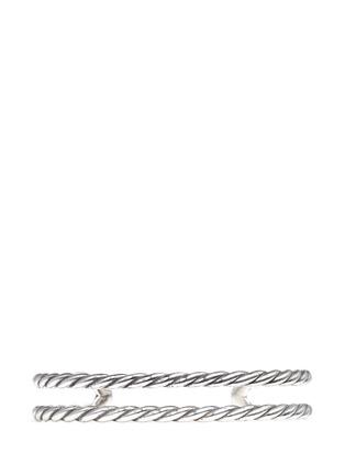 Main View - Click To Enlarge - Philippe Audibert - 'Abott' scored cutout cuff