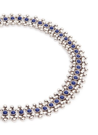 Detail View - Click To Enlarge - PHILIPPE AUDIBERT - 'Han' lapis stone bead necklace