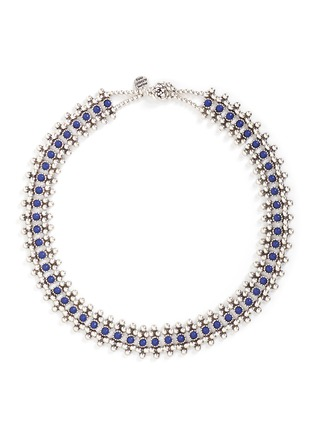 Main View - Click To Enlarge - PHILIPPE AUDIBERT - 'Han' lapis stone bead necklace
