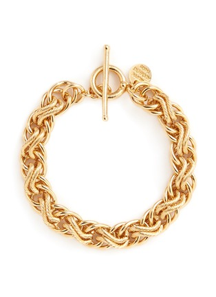 Main View - Click To Enlarge - PHILIPPE AUDIBERT - Contrast chain bracelet