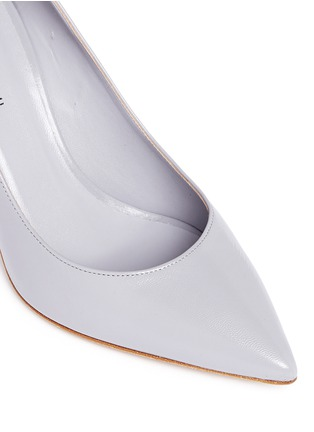 Detail View - Click To Enlarge - Fabio Rusconi - 'Nataly' kid leather pumps