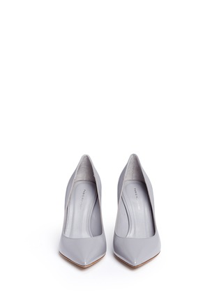 Front View - Click To Enlarge - Fabio Rusconi - 'Nataly' kid leather pumps