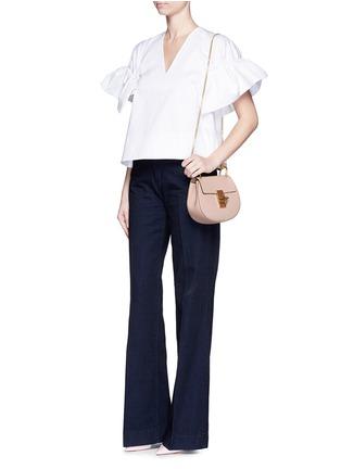 Figure View - Click To Enlarge - Chloé - 'Drew' mini grainy leather shoulder bag