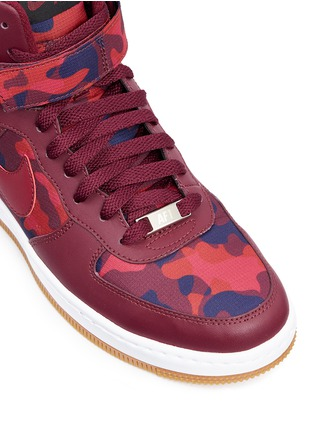 Detail View - Click To Enlarge - Nike - 'AF-1 Ultra Force' mid top leather sneakers