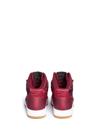 Back View - Click To Enlarge - Nike - 'AF-1 Ultra Force' mid top leather sneakers
