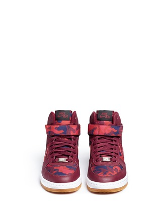 Front View - Click To Enlarge - Nike - 'AF-1 Ultra Force' mid top leather sneakers