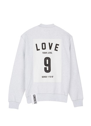 Main View - Click To Enlarge - Studio Concrete - 'Series 1 to 10' unisex sweatshirt - 9 Love