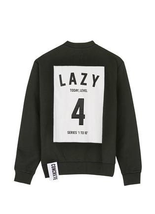 Main View - Click To Enlarge - Studio Concrete - 'Series 1 to 10' unisex sweatshirt - 4 Lazy