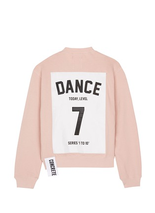 Main View - Click To Enlarge - Studio Concrete - 'Series 1 to 10' sweatshirt - 7 Dance