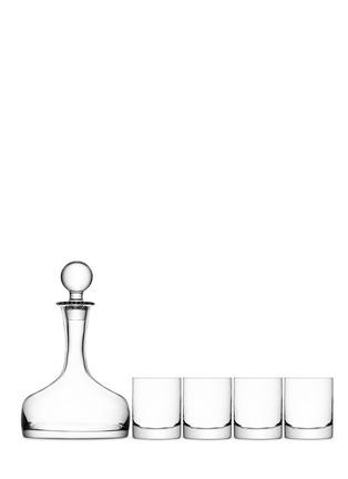 Main View - Click To Enlarge - Lsa - Bar whisky decanter and tumbler set