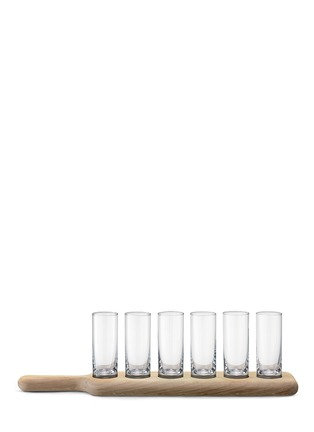 Main View - Click To Enlarge - Lsa - Paddle 6 vodka glass serving set