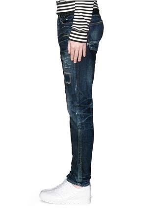 Detail View - Click To Enlarge - DENHAM - Razor JABL' distressed jeans