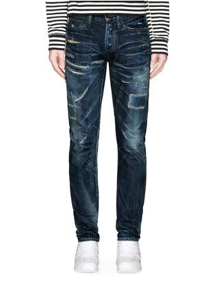 Main View - Click To Enlarge - DENHAM - Razor JABL' distressed jeans