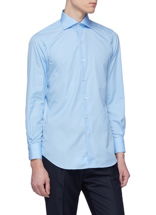 Front View - Click To Enlarge - Tomorrowland - Slim fit poplin shirt