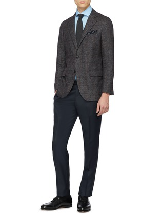 Figure View - Click To Enlarge - Tomorrowland - Slim fit poplin shirt