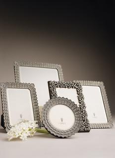 L'Objet Deco Noir 8R photo frame – Platinum