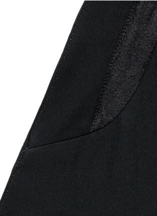 Detail View - Click To Enlarge - Haider Ackermann - Double breasted shawl collar blazer