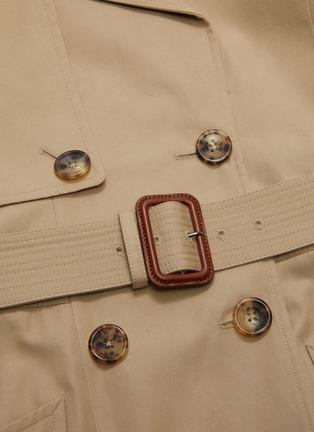 - ALEXANDER MCQUEEN - Belted trench jacket