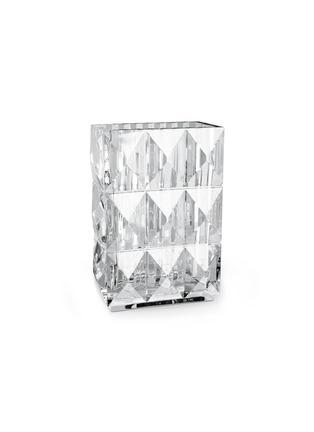 Main View - Click To Enlarge - BACCARAT - Louxor diamond cut vase
