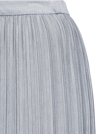 Detail View - Click To Enlarge - THEORY - 'Osnyo' plissé pleat maxi skirt