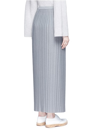 Back View - Click To Enlarge - THEORY - 'Osnyo' plissé pleat maxi skirt