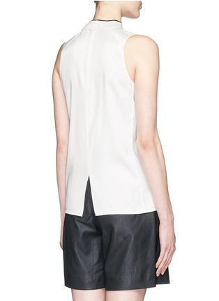 Back View - Click To Enlarge - rag & bone - 'Edie' mock neck crepe top