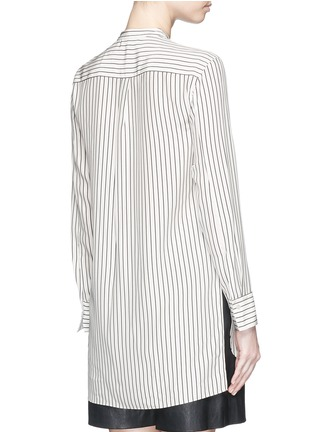 Back View - Click To Enlarge - rag & bone - 'Virginia' stripe silk satin shirt