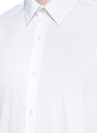 Detail View - Click To Enlarge - THEORY - 'Sylvain' stretch poplin shirt
