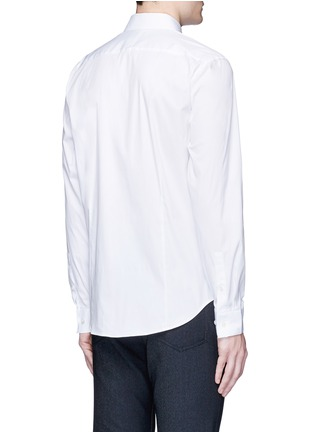 Back View - Click To Enlarge - THEORY - 'Sylvain' stretch poplin shirt