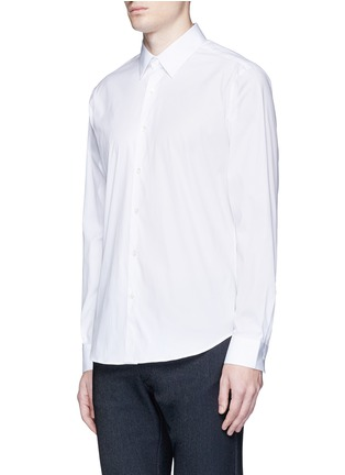 Front View - Click To Enlarge - THEORY - 'Sylvain' stretch poplin shirt