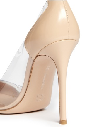 Detail View - Click To Enlarge - GIANVITO ROSSI - Clear PVC patent leather pumps