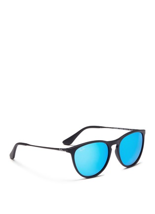 Figure View - Click To Enlarge - Ray-Ban - Izzy' metal mirror kids sunglasses