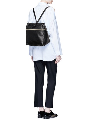 Figure View - Click To Enlarge - Kara - Pebbled leather backpack