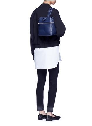 Figure View - Click To Enlarge - Kara - Small pebbled leather backpack