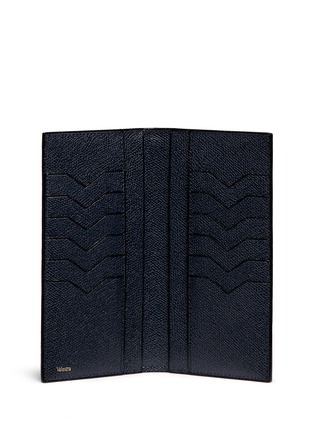 - Valextra - Vertical leather wallet