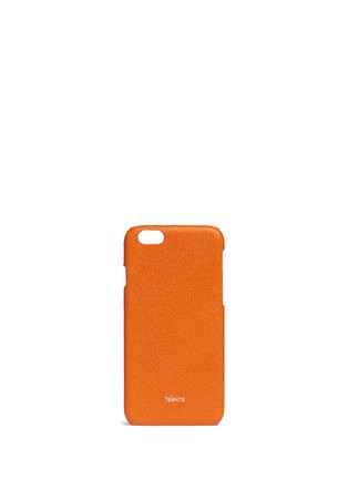 Main View - Click To Enlarge - Valextra - Leather iPhone 6 case