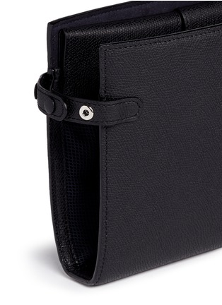 Detail View - Click To Enlarge - Valextra - Leather travel accessories case