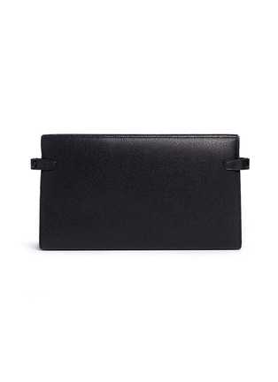 Back View - Click To Enlarge - Valextra - Leather travel accessories case