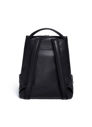 Back View - Click To Enlarge - Valextra - 'V Line' leather backpack