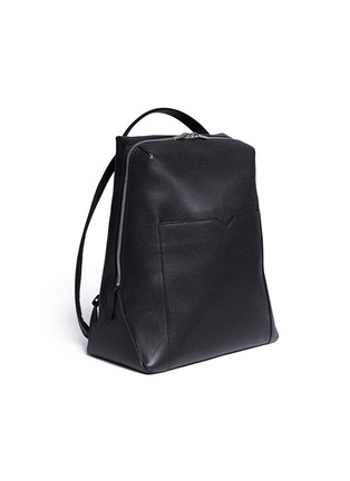 - Valextra - 'V Line' leather backpack