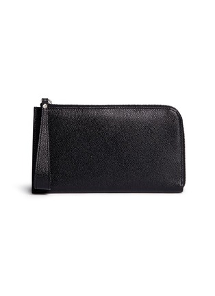 Main View - Click To Enlarge - Valextra - Leather travel wallet