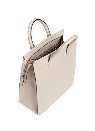 Detail View - Click To Enlarge - GIORGIO ARMANI Bags - Saffiano leather shopper tote