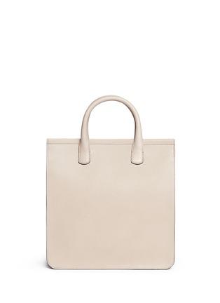 Back View - Click To Enlarge - GIORGIO ARMANI Bags - Saffiano leather shopper tote