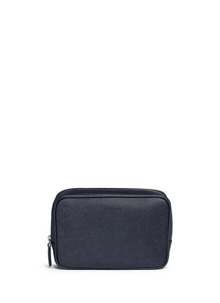 Main View - Click To Enlarge - GIORGIO ARMANI Bags - Saffiano leather travel clutch