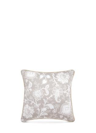 Main View - Click To Enlarge - Etro - Dawson Mackenzie floral print cushion