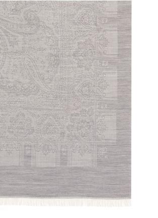Detail View - Click To Enlarge - ETRO - Zanzibar Ceylon wool-cashmere paisley jacquard throw