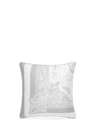 Main View - Click To Enlarge - Etro - Dawson Whitehorse paisley print cushion