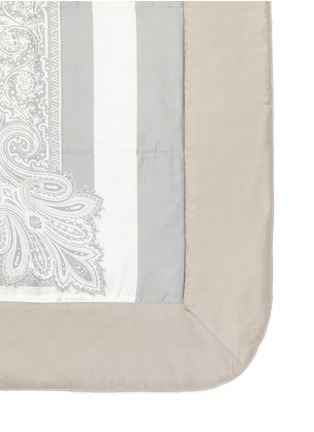 Detail View - Click To Enlarge - Etro - Dawson Whitehorse paisley print king size bed cover