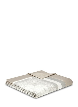 Main View - Click To Enlarge - Etro - Dawson Whitehorse paisley print king size bed cover